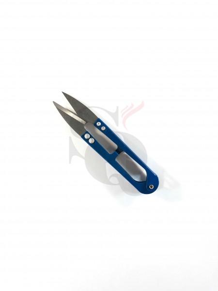 Watte Schere blau