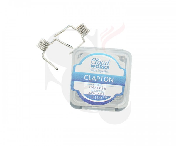 Cloud Works Clapton Coil Pre-Made 2st.