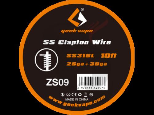 Geek Vape SS Clapton Wire