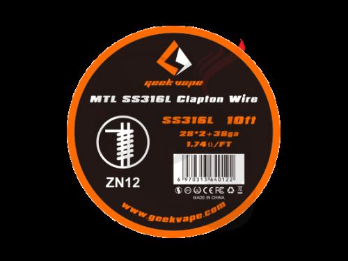 Geek Vape MTL SS316L Clapton Wire