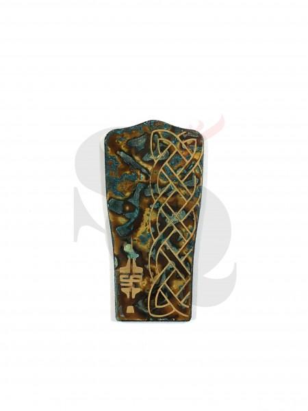 Stutt-Art Bodyplates Brass Ornament
