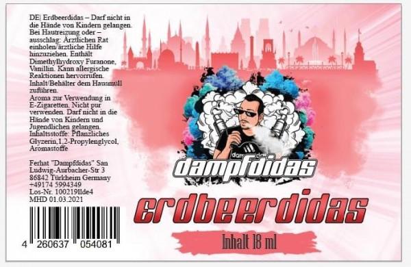 Dampfdidas Erdbeerdidas Aroma 18ml