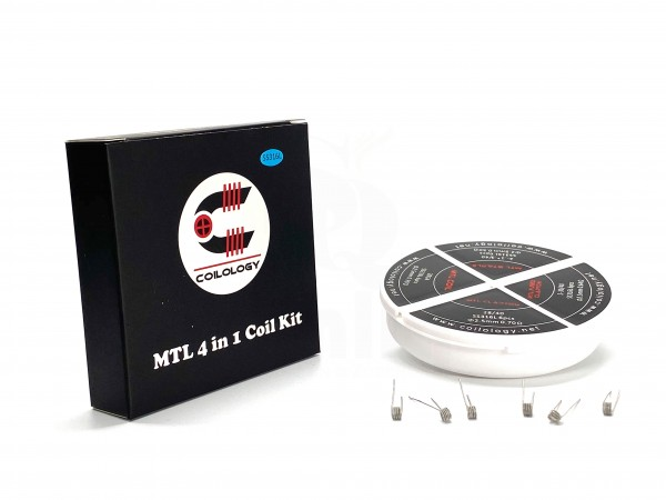 Coilology MTL 4in1 Coil Kit SS316L